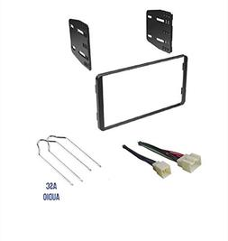 ASC Car Stereo Radio Install Dash Kit, Wire Harness, and Rad