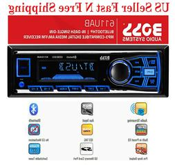 BOSS Car Stereo Receiver Audio Bluetooth Enabled Single Din