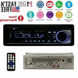 Wireless Car Stereo Receiver Radio  In Dash 1 Single Din MP3