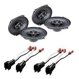 "CAR Stereo 4- Way Speakers 350W 5"" x 7"" / 6"" x 8"" + Speaker"