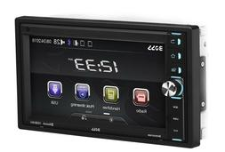 Car Stereo System Bluetooth Touchscreen 6.5 Inch Double Din
