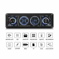 Car Stereo with Bluetooth Single Din Car Stereo Car Radio Ca