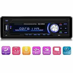 Car Stereo With Bluetooth Single Din Dash Stereos For Car, A