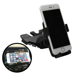 CD Slot Car Stereo Cell Phone Holder Mount for Apple iPhone