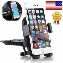 CD Slot Car Stereo Smart Phone Holder Mount for Apple iPhone