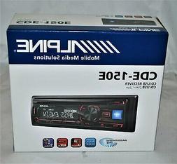 Alpine CDE-150E Single DIN AM/FM, CD / USB, MP3, WMA Aux in