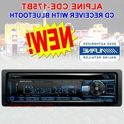 ALPINE CDE-175BT SINGLE-DIN CD CAR STEREO WITH BLUETOOTH USB