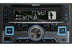 Alpine CDE-W265BT Double DIN Bluetooth in-Dash CD/AM/FM Rece
