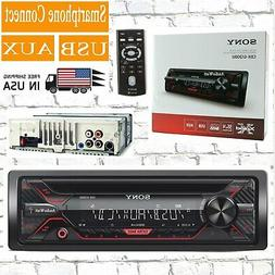 Sony CDX-G1200U 55W CD Receiver with Enhanced Smartphone Con