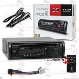 SONY CDX-GT320MP CAR AUDIO AM FM MP3 CD STEREO W/ AUX INPUT