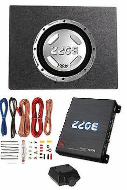 """Boss Audio Chaos 12"""" 1400W Subwoofer + Shallow Enclosure + A"""