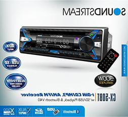 Soundstream CX50BT Car CD MP3 Player USB AUX SD Card Inputs
