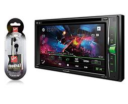 "Pioneer in-Dash Double DIN 6.2"" WVGA Display Built-in Blueto"