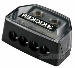 Kicker DB4 Distribution Block With 1/0-8 Gauge Inputs And 4-