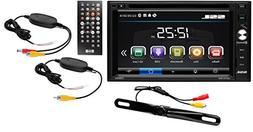 Sound Storm DD761BW Double Din, Touchscreen, Bluetooth, DVD/
