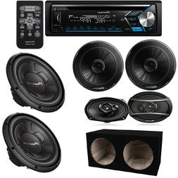 "car stereo 6X9"" + 6.5"" speakers / 1300W 12"" Car Subwoofers +"