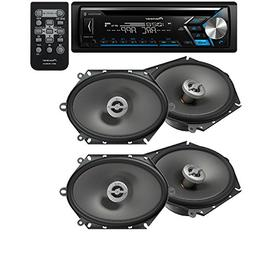 Pioneer DEH-S4000BT CD Receiver iPhone Android Bluetooth Pan