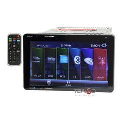 "Soundstream Detachable 10.3"" LCD DVD USB Bluetooth Sirius Ca"