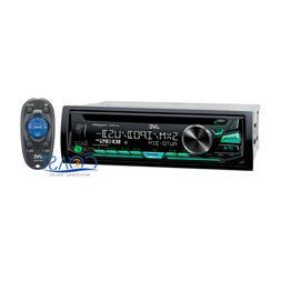 JVC Detachable Faceplate Car Stereo Sirius XM MP3 USB SD Aux