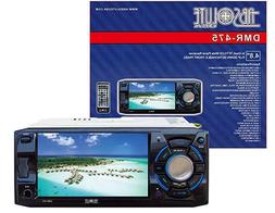 "Absolute DMR475 Single Din Car Stereo 4.8"" DVD/MP3/CD Radio"