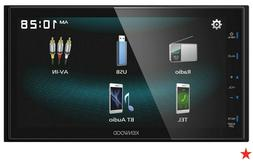 """Kenwood DMX125BT 2-DIN 6.8"""" Touchscreen Car Stereo Digital"""