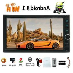"Double 2 Din Android Car Stereo 6.2"" Bluetooth Wifi Radio CD"