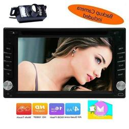 "Double Din 6.2"" Android 6.0 GPS Navi Car Radio DVD Player St"