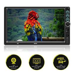 Double Din 7 Inch Touch Screen Car Stereo with Bluetooth Mir