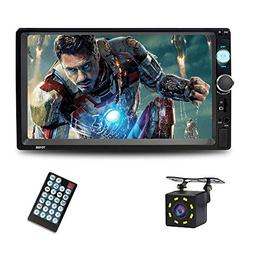7 Inch Double Din Touch Screen Car Stereo with Bluetooth car