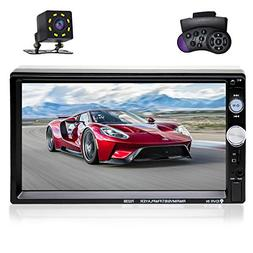 7 inch Double Din Touch Screen Car Stereo MP5/MP4/MP3 Player