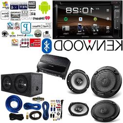"Kenwood Double Din 6.2"" Touchscreen Car DVD CD Stereo 6.5"" 6"