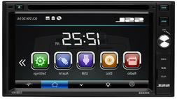 "Soundstorm Double-DIN 6.2"" Touchscreen Multimedia DVD Player"