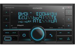 Kenwood DPX304MBT 2-DIN Car Stereo Digital Media Receiver wi