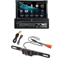Dual XDVD156BT Single DIN Bluetooth in-Dash DVD/CD/AM/FM Car