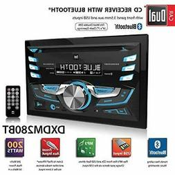 Dual Electronics DXDM280BT Car Stereo w/ Bluetooth CD USB AU