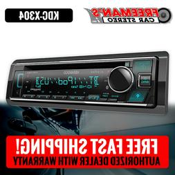Kenwood Excelon KDC-X304 Car Stereo CD Receiver Player with