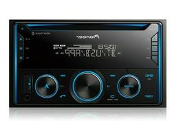 Pioneer FH-S520BT Double DIN SiriusXM Stereo CD/USB Car In-D