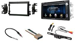 Ford Mercury Touchscreen Double Din Bluetooth CD/DVD/AUX/USB