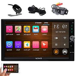 Front & Rear Camera Included! Android 7.1 Double Din Car Ste