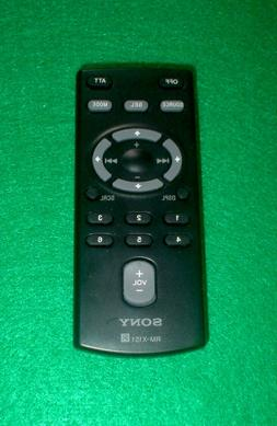 Genuine Sony RM-X151 Car Stereo Remote Control with Battery