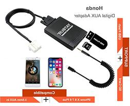 Honda Acura iPhone Stereo AUX Adapter, Digital Car Audio Inp