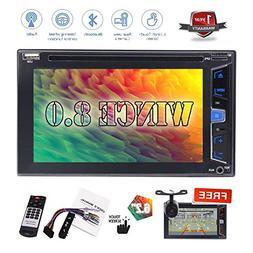 "Hotsale 6.2"" No GPS Navigation Car DVD Player Double 2 Din A"