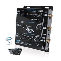 Lanzar Car Audio Crossover, 3 Way Active Crossover, Low Pass