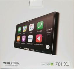 ALPINE iLX-107 Wireless Apple CarPlay Double DIN In-Dash Tou