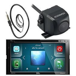 JVC 7 Inch Double Din Car CD DVD USB Bluetooth Stereo Receiv