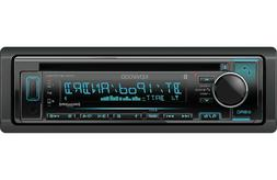 Kenwood KDC-BT372U In-Dash Single Din CD Receiver with Bluet