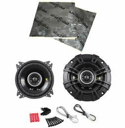 """Kicker Cs44 Car Stereo 4"""" Coaxial 150 Watt Full Range Pair S"""