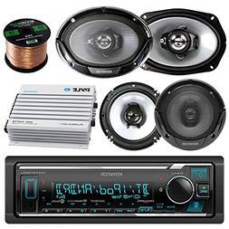 Kenwood Bluetooth AM/FM Radio Car MP3 Receiver Player Bundle