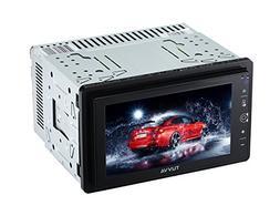 TUVVA KSN6280 2-DIN Mechless Car Stereo with MHL Mobile Conn
