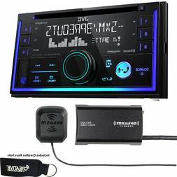 JVC KW-R930BTS Double DIN Bluetooth In-Dash Car Stereo, Siri